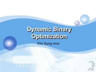 Dynamic Binary Optimization