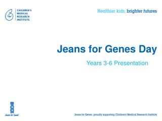 Jeans for Genes Day
