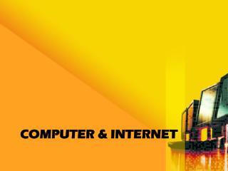 Computer & Internet