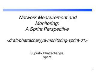 Supratik Bhattacharyya Sprint