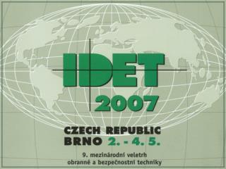 Veletrh IDET 2007