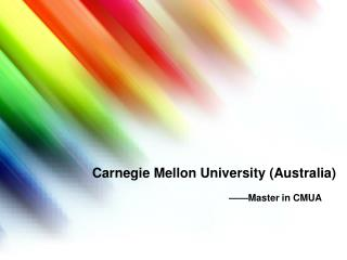 Carnegie Mellon University (Australia)