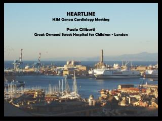 HEARTLINE HSM Genoa Cardiology Meeting Paolo Ciliberti