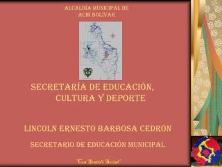 Secretar�a de educaci�n,           cultura y deporte