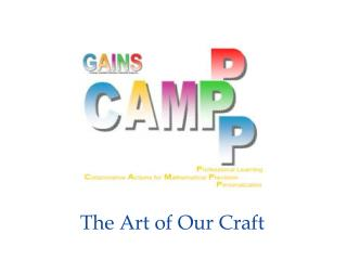 The Art of Our Craft
