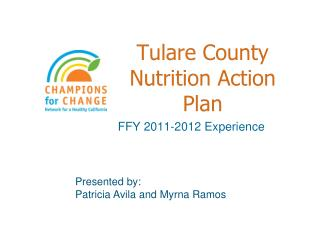 Tulare County Nutrition Action Plan