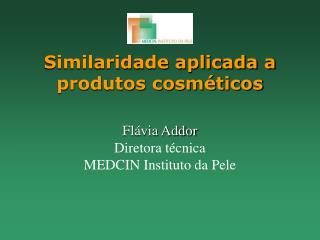 Similaridade aplicada a produtos cosméticos