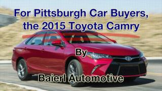 ppt 41972 For Pittsburgh Car Buyers the 2015 Toyota Camry