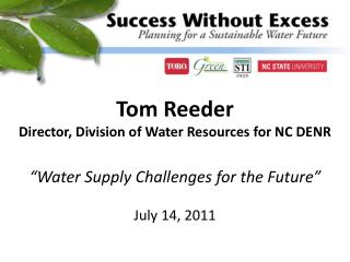 """Water Supply Challenges for the Future"""
