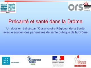 Précarité et santé dans la Drôme