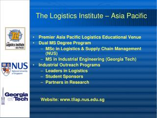China Logistics Past, Present and Future