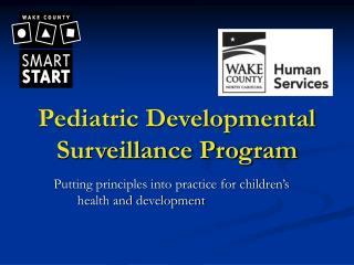 Pediatric Developmental Surveillance Program
