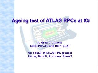 Andrea Di Simone CERN PH/ATC and INFN-CNAF On behalf of ATLAS RPC groups: