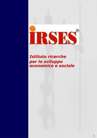 Istituto ricerche per lo sviluppo economico e sociale