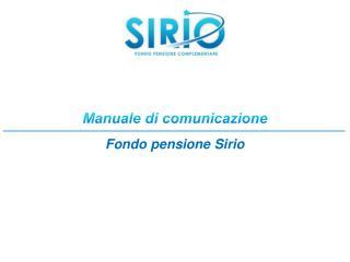 Manuale di comunicazione