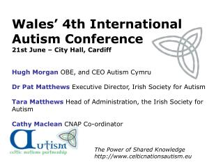 The Power of Shared Knowledge celticnationsautism.eu