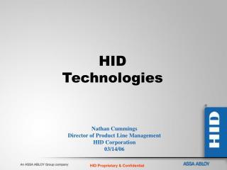 HID Technologies