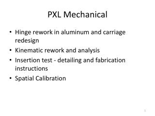 PXL Mechanical