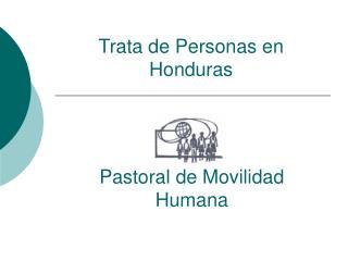 Trata de Personas en Honduras