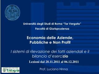 Prof. Luciano Hinna
