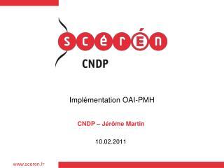 Implémentation OAI-PMH