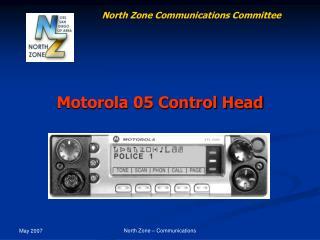 Motorola 05 Control Head