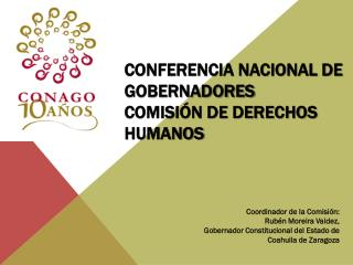 Conferencia Nacional de Gobernadores Comisión de Derechos Humanos