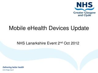 Mobile eHealth Devices Update
