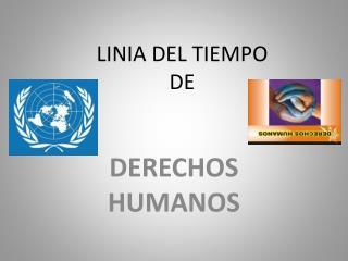LINIA DEL TIEMPO  DE