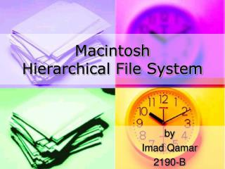 Macintosh Hierarchical File System