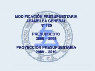 PROYECCIÓN INGRESOS 2008 - 2009