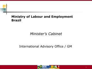 Minister's Cabinet