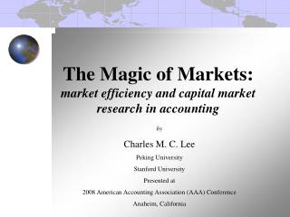 by Charles M. C. Lee  Peking University Stanford University Presented at