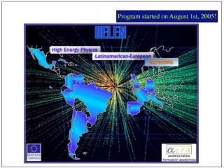 HELEN High Energy Physics Latinamerican-European Network