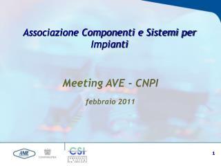 Associazione Componenti e Sistemi per Impianti