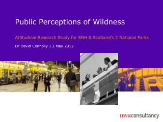Public Perceptions of Wildness