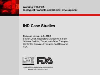 IND Case Studies