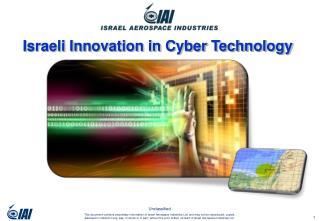 Israeli Innovation in Cyber Technology
