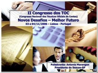 II Congresso dos TOC (Congresso Nacional dos Técnicos Oficiais de Contas)