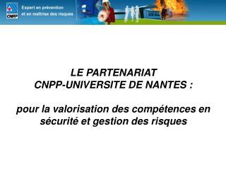 L'Université de Nantes