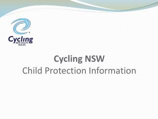 Cycling NSW Child Protection Information