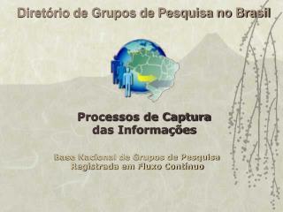 Diretório de Grupos de Pesquisa no Brasil