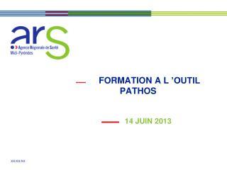 FORMATION A L'OUTIL PATHOS
