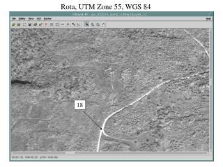 Rota, UTM Zone 55, WGS 84
