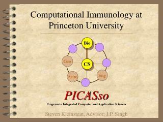 Computational Immunology at Princeton University