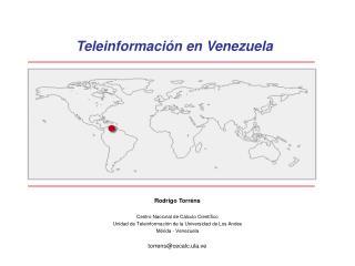 Teleinformaci�n en Venezuela