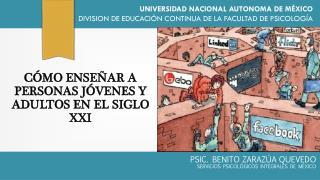 C�MO ENSE�AR A PERSONAS J�VENES Y ADULTOS EN EL SIGLO  XXI