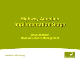 The Original Information Highway