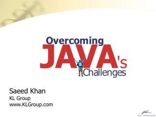 Saeed Khan KL Group KLGroup