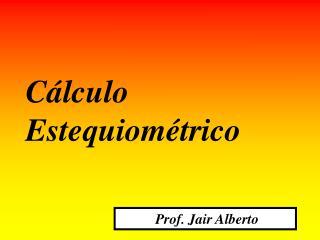 Prof. Jair Alberto